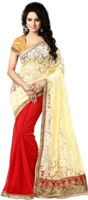 natraj Self Design Bollywood Brasso Sari