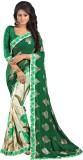 Granth Floral Print Fashion Georgette Sa...