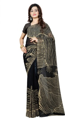 Fabdeal Printed Fashion Georgette Sari
