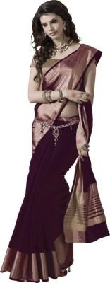 Vivera Fashion Solid Bollywood Kota Sari