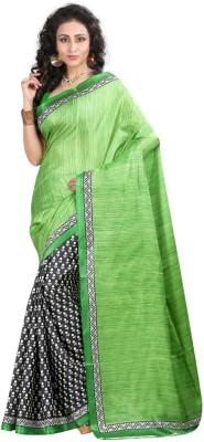 Shopping Queen Printed Daily Wear Silk Sari