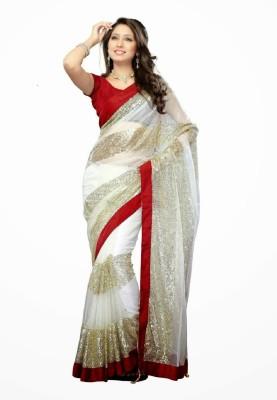 Anuradha Enterprises Self Design Bollywood Net Sari