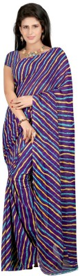 Pooja Fashions Printed Fashion Georgette Sari