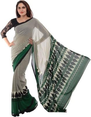Samadhi Sarees Self Design Daily Wear Synthetic Fabric Sari