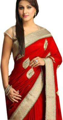 Kia Fashions Embriodered Bollywood Georgette Sari
