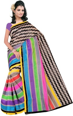 Prachi Silk Mills Printed Daily Wear Art Silk Sari