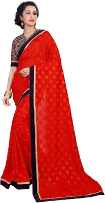 sivermoonfashion Self Design Fashion Jacquard Sari