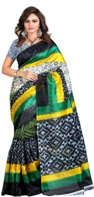 Fabiola Trendz Printed Bollywood Handloom Art Silk Sari