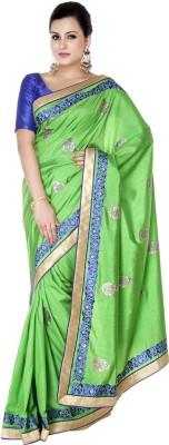 Studio Shringaar Embriodered Fashion Polyester Sari