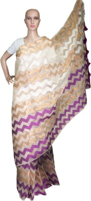 Prateeti Self Design Fashion Handloom Kota Cotton Sari