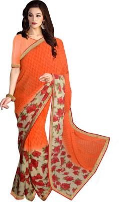 Wama Fashion Printed Fashion Georgette Sari
