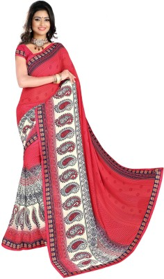 J Milan Printed Bollywood Georgette Sari