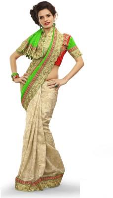 Adde Embellished Fashion Synthetic Georgette, Silk Sari