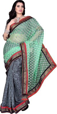Prafful Printed Fashion Jacquard Sari