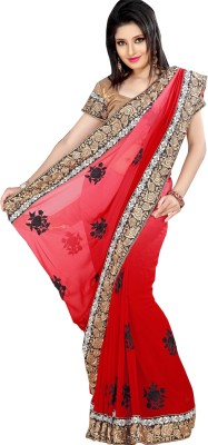Krishna Printed Fashion Georgette Sari