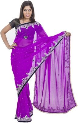Celebez Self Design Fashion Handloom Satin Sari