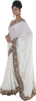 Vikrant Collections Embellished Bollywood Chiffon Sari