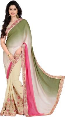Kabeer Creation Embriodered Daily Wear Handloom Jacquard Sari