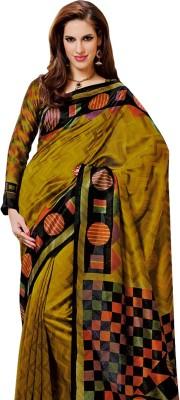 K D Collection Printed Daily Wear Silk Sari