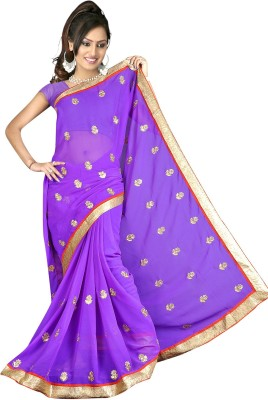 Banzari Embriodered Bollywood Handloom Georgette Sari