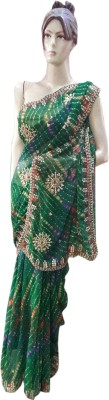 M.S.Center Printed Daily Wear Synthetic Sari