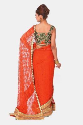 Raagbydeepa Embellished Fashion Handloom Net Sari