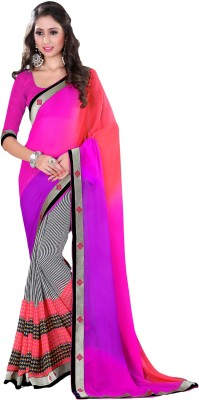 Suchi Fashion Printed Fashion Georgette Sari