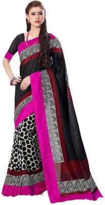 Greshadesigner Printed Fashion Pure Silk Sari