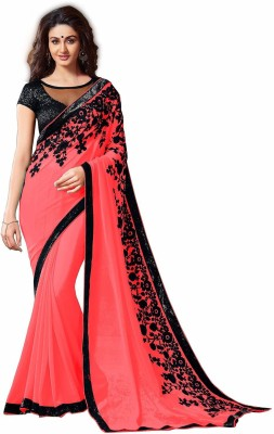 bhavnafashion Embriodered Bollywood Georgette Sari