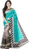 FastColors Printed Bollywood Cotton Sare...