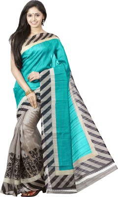 FastColors Self Design Bollywood Cotton Sari