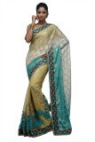 SareesHut Self Design, Embellished, Embr...