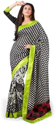 Vipul Embellished, Embriodered Bhagalpuri Art Silk Sari
