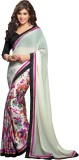 Pagli Floral Print Fashion Georgette, Cr...