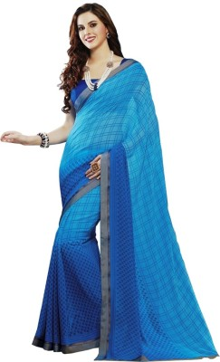 Charu Boutique Printed Murshidabad Chiffon Sari