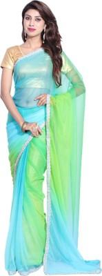 Hanis Solid Fashion Handloom Net Sari
