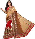 Rudra Fashion Embroidered Bollywood Geor...