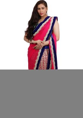 Philanto Design Self Design Bollywood Georgette Sari