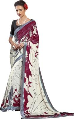Indian Pahnaav Graphic Print Bollywood Art Silk Sari
