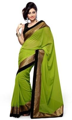 Meetwaa Embriodered Fashion Chiffon Sari