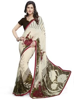 Varsha Printed Daily Wear Chiffon Sari