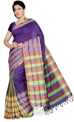 Studio Shringaar Checkered Coimbatore Art Silk Sari