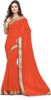 Livaaz Self Design Daily Wear Chiffon Sari