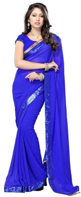 Moksha Embriodered Bollywood Georgette Sari