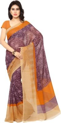 Anand Sarees Printed Bhagalpuri Silk Sari