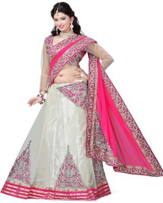 Saumya Designer Embriodered Fashion Net Sari