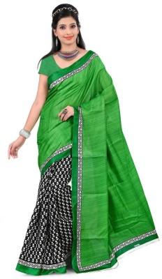 Kia Fashions Printed Fashion Silk Sari