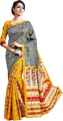 Fashion Boutique Printed Banarasi Art Silk Sari