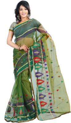 Florence Embriodered Fashion Tissue Sari