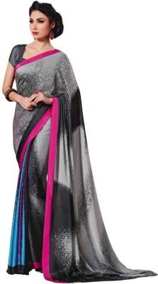 Vipul saree Printed Fashion Crepe Sari